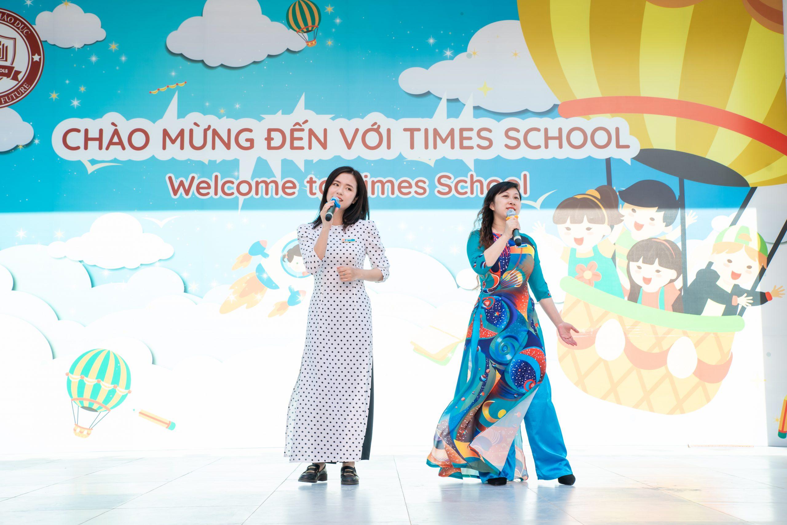 Sôi động ngày hội gia đình ở trường Tiểu học Times School
